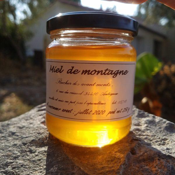 miel de montagne 250